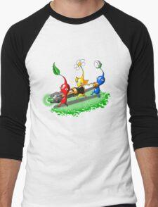 Pikmin Who Men's Baseball ¾ T-Shirt
