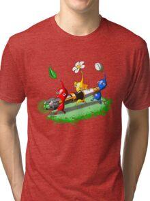 Pikmin Who Tri-blend T-Shirt