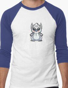 YOLO - You Obviously Love Owlbears (Wee Beasties - Snowy Wee Owlbear) Men's Baseball ¾ T-Shirt