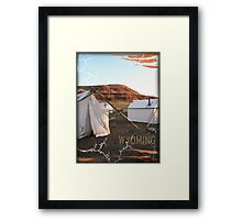 Wyoming 2009 Framed Print