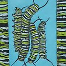 Animal Skins : Monarch Butterfly Caterpillar by Jedro