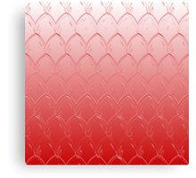 Red Dragon Scales Canvas Print