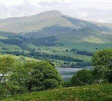 Scottish Loch by rhallam
