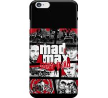Mashup GTA Mad Max Fury Road iPhone Case/Skin