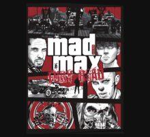 Mashup GTA Mad Max Fury Road Kids Clothes
