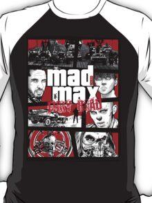 Mashup GTA Mad Max Fury Road T-Shirt