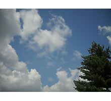 Meaningful Clouds Photographic Print
