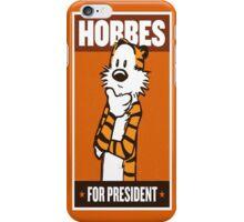 President Hobbes iPhone Case/Skin