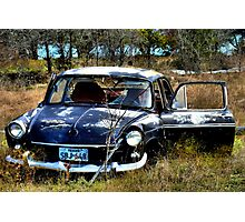 Abandon In The Fields  ( BoneYard Series ) Photographic Print