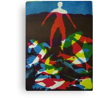 Castaway (from Meditations on Moby Dick) Canvas Print