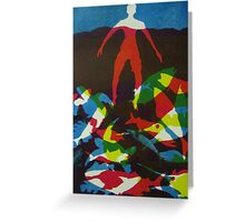 Castaway (from Meditations on Moby Dick) Greeting Card
