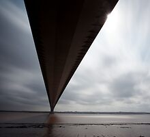 Humber Bridge by Carl Mickleburgh