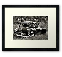 Abandon In The Fields ~ 2  ( BoneYard Series ) Framed Print