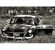 Abandon In The Fields ~ 2  ( BoneYard Series ) Photographic Print