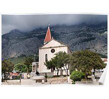 St. Marks church, Makarska Poster