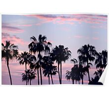 San Diego Cotton Candy Sunset CALIFORNIA Poster
