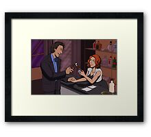 Hulk Widow Framed Print