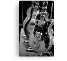 Glenwood Electric Guitar Canvas Print