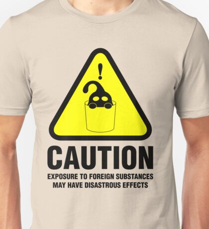 Suu Hazard Sign (English version, for light backgrounds) Unisex T-Shirt