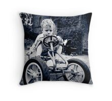 ...vrooooOOOM... Throw Pillow