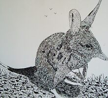 The Bilby by GEORGE SANDERSON