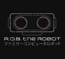 R.O.B. The Robot - Retro Minimalist - Black Dirty by garudoh