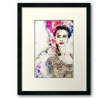 Born to be admired ~ Elizabeth Poldark Framed Print