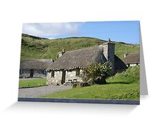 lovely thatch, Isle of Skye Greeting Card