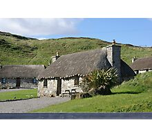 lovely thatch, Isle of Skye Photographic Print