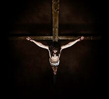 looking down the cross by Mark Rodriguez (Godriguez)
