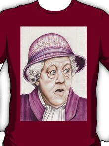 The original Miss Marple : Dame Margaret Rutherford (501 views as at 16th August 2011) T-Shirt