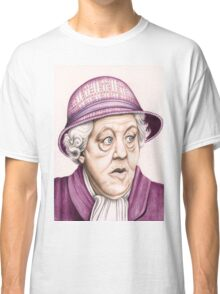 The original Miss Marple : Dame Margaret Rutherford (501 views as at 16th August 2011) Classic T-Shirt