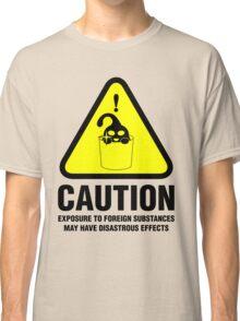 Suu Hazard Sign, Mischievous Version (English text, for light backgrounds) Classic T-Shirt