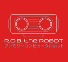R.O.B. The Robot - Retro Minimalist - Red Clean by garudoh