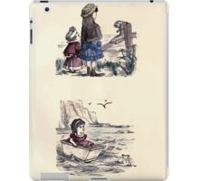 The Little Folks Painting book by George Weatherly and Kate Greenaway 0059 iPad Case/Skin