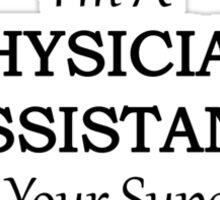 Physician Assistant Sticker