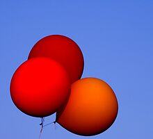 Red bubbles  by Anisul Hoque