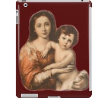 JESUS, Christ, Madonna and Child, Protection, Religion, Biblical, Miracle, Religious Icon iPad Case/Skin