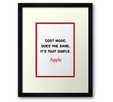 It's that simple Framed Print