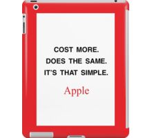 It's that simple iPad Case/Skin