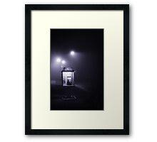 Public telephone Framed Print