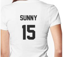 SNSD Sunny Jersey Womens Fitted T-Shirt