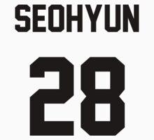 SNSD Seohyun Jersey One Piece - Short Sleeve