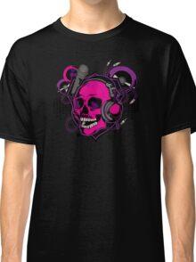 Karaoke Skull! Classic T-Shirt