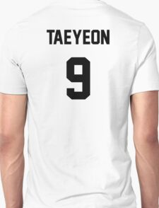 SNSD Taeyeon Jersey Unisex T-Shirt