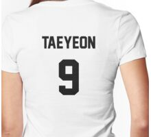 SNSD Taeyeon Jersey Womens Fitted T-Shirt