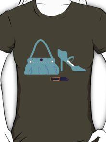 BAG SHOES AND LIPPY    T SHIRT T-Shirt