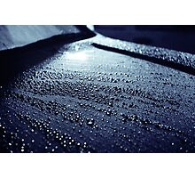 Water droplets 1 Photographic Print