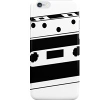 Retro audio tape iPhone Case/Skin