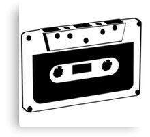 Retro audio tape Canvas Print